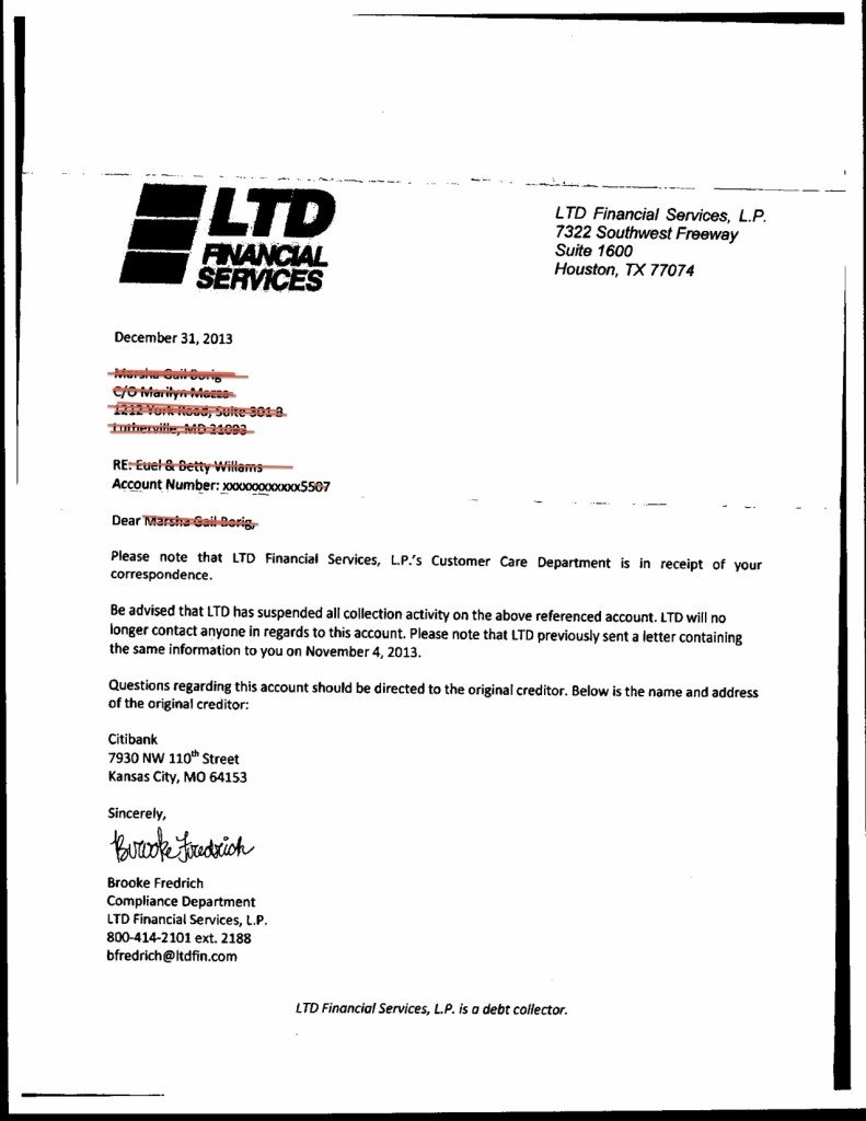 Legal Dispute Letter For Business Owner