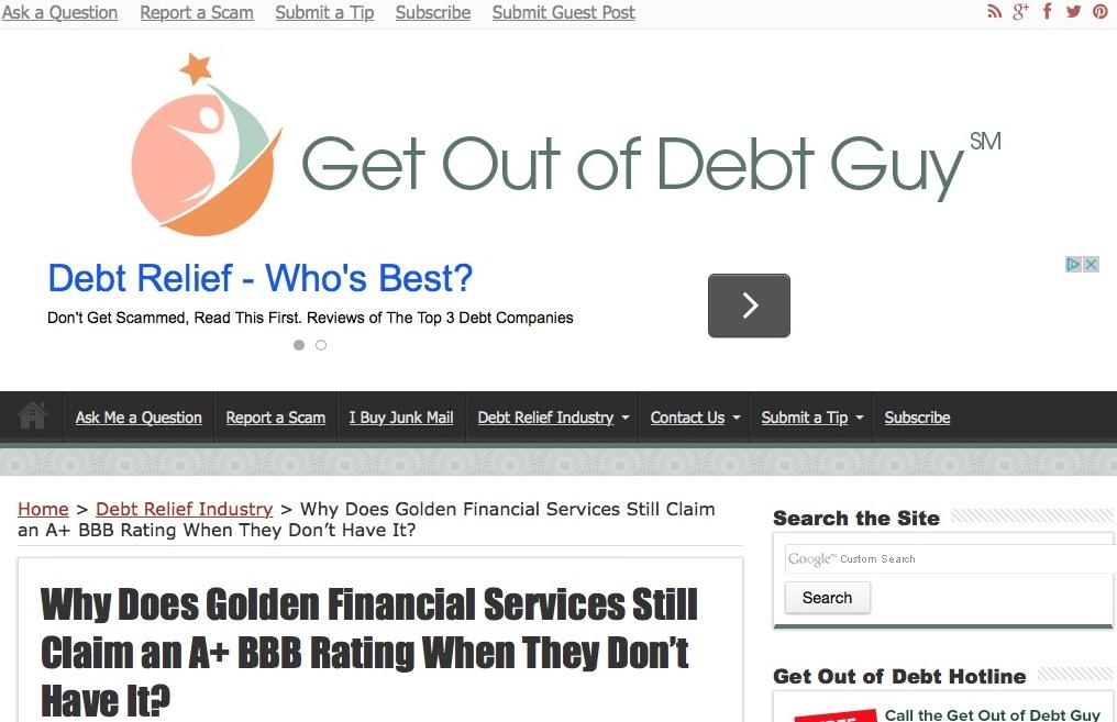 defamatory.lie.steve.rhode.review.on.golden.financial.services