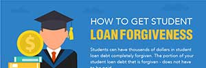 How to get student loan forgiveness (learn how inside Infographic)