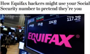 Criminals Hack Equifax – How to Protect Your Credit & Identity
