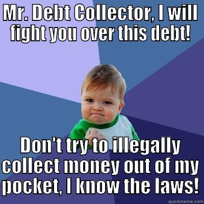 Learn About Debt Collection Laws, Debt Validation and The FDCPA