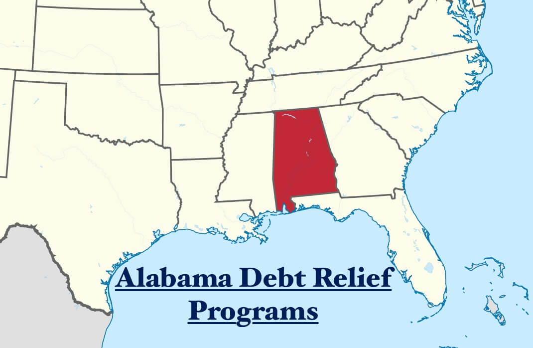 Best Rated and Accredited Alabama Debt Relief, Settlement and Consolidation Program