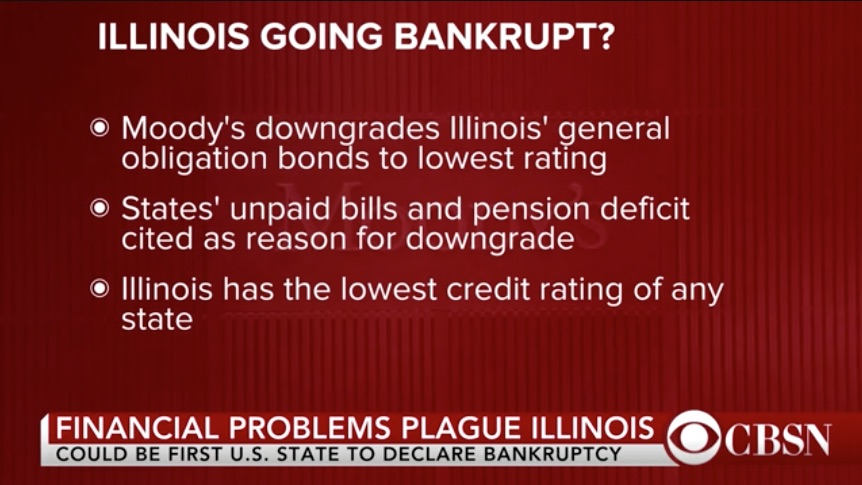 State of Illinois contemplating bankruptcy