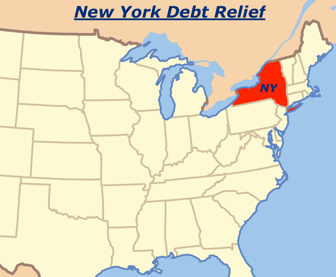 Best NY New York Debt Relief Program