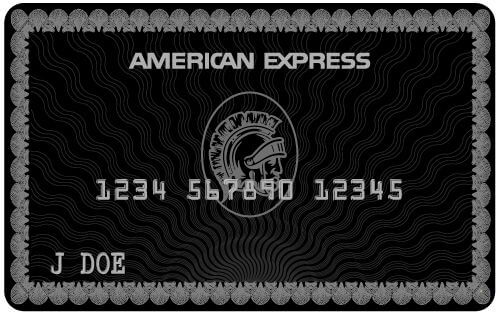 broke celebrities often carry this black AMEX credit card