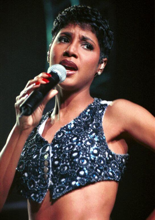 Toni Braxton on list of broke celebrities