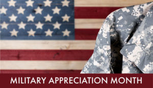 Military Appreciation, Military Appreciation Month, Memorial Day 2019, Memorial Day Weekend