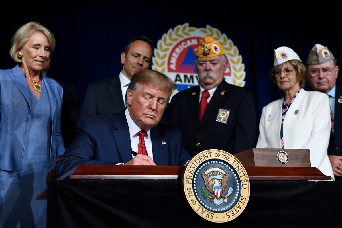 President Trump, Donald Trump, student loan forgiveness