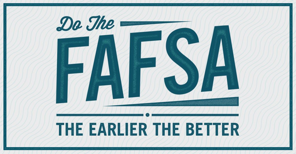 FAFSA application