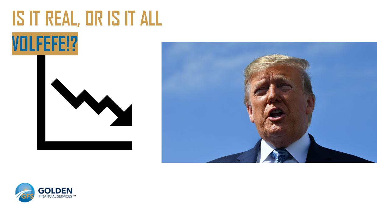 Trump, President Trump, Donald Trump, Volfefe, stock market