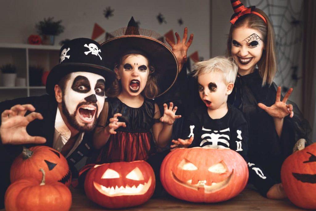 Halloween family celebrations
