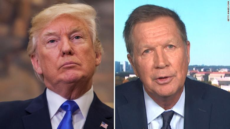 Trump vs Kasich
