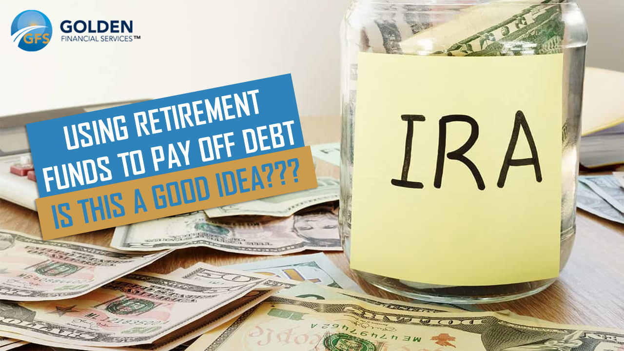 Paying debt with IRA