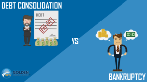 How to Choose Between Debt Consolidation and Bankruptcy