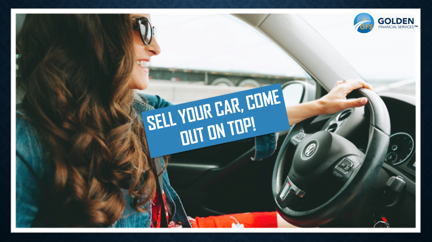 Get on top of debt after selling a car