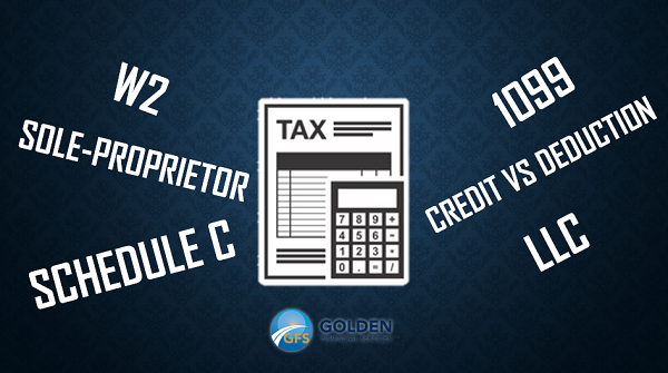 W2 and 1099 tax filing