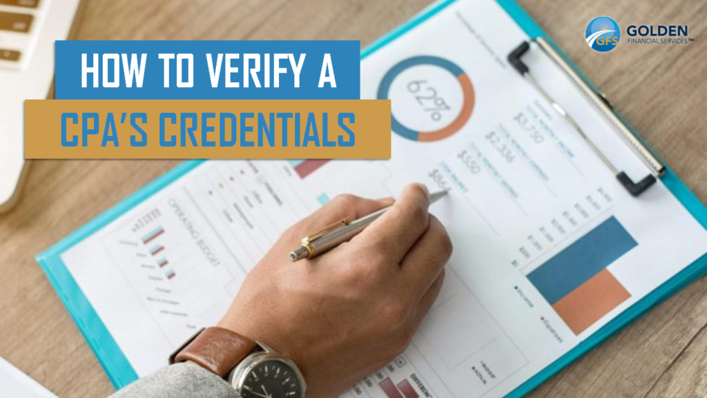 Verifying CPA credentials