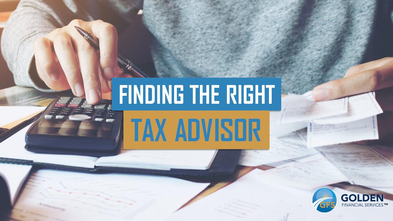 Hiring a tax advisor