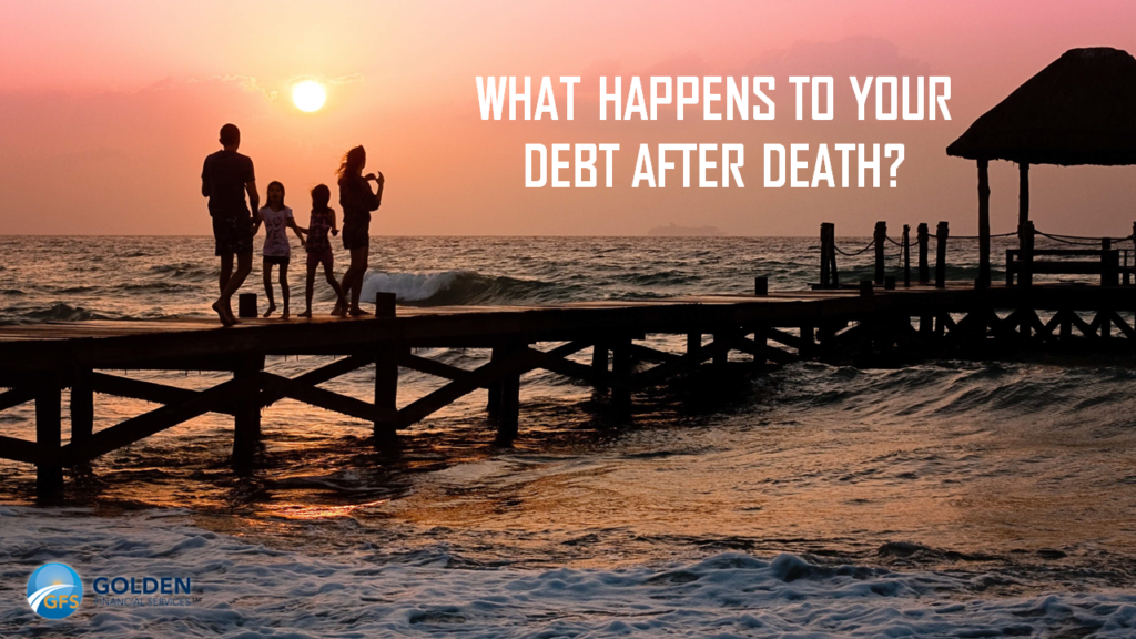 What happens to debt after death