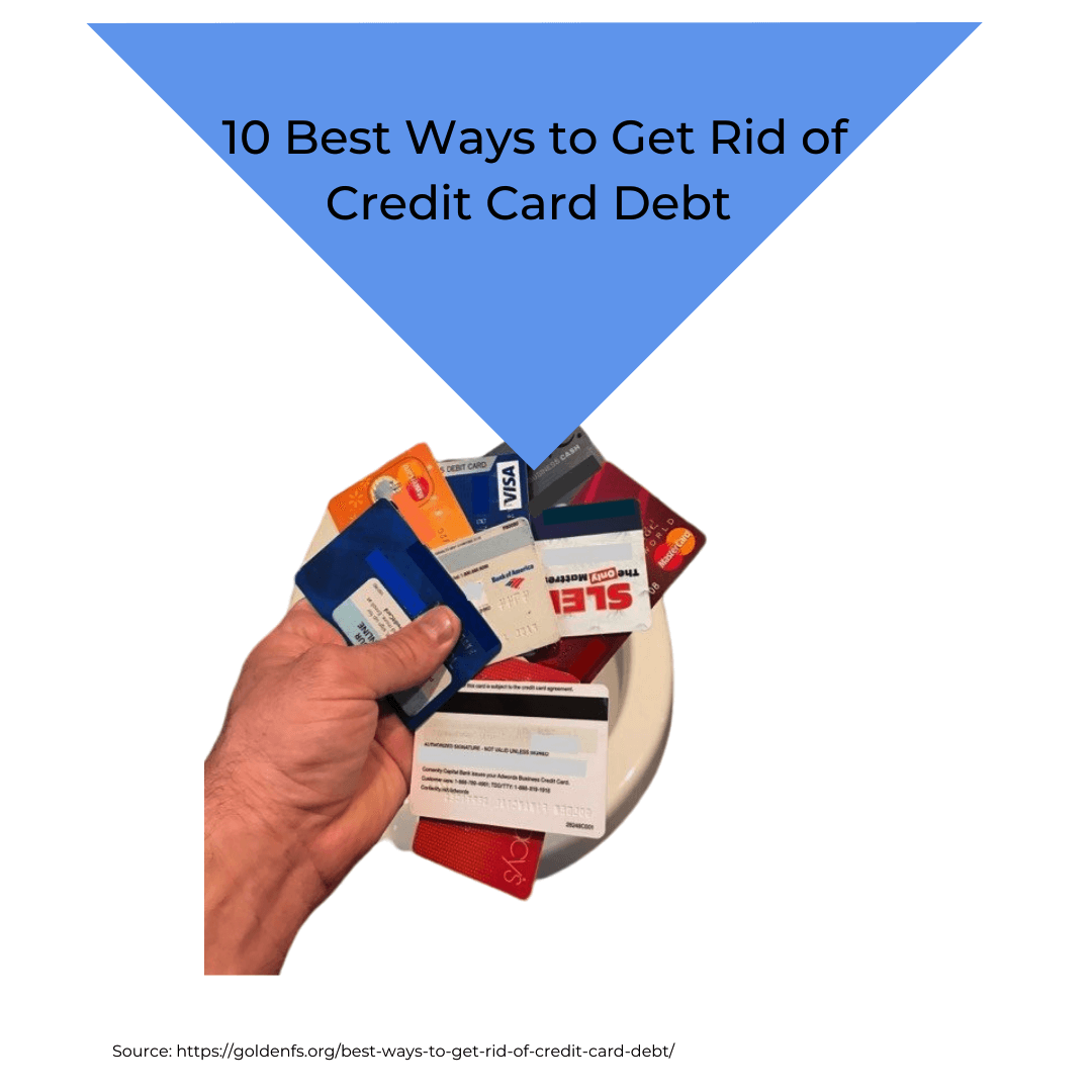 best way to get rid of credit card debt