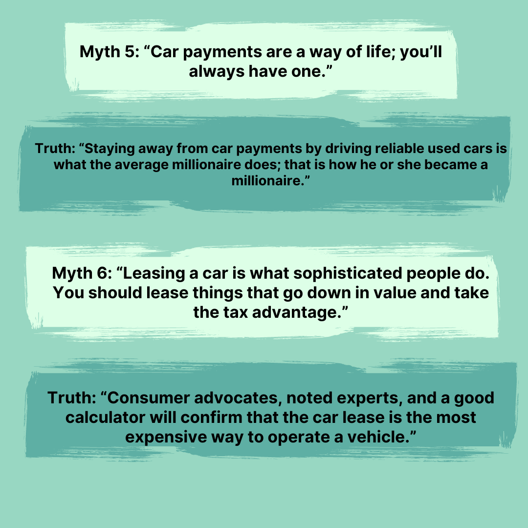 The Total Money Makeover Myths 4-5