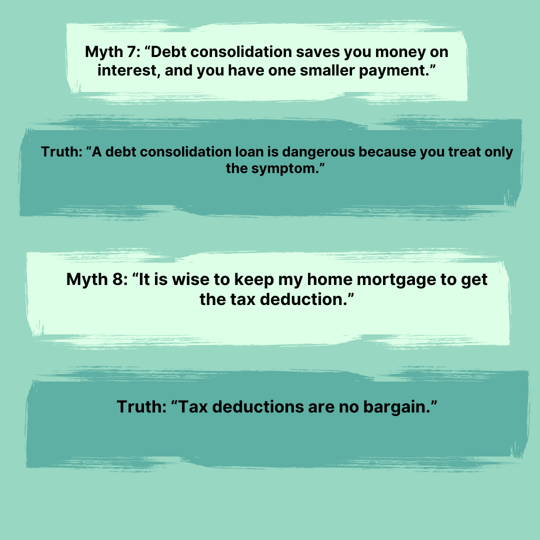Best Summary of The Total Money Makeover with Myths and Truths
