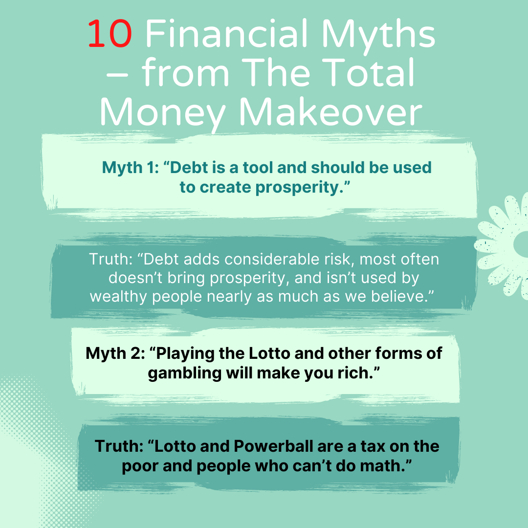 summary the total money makeover myths 1-2
